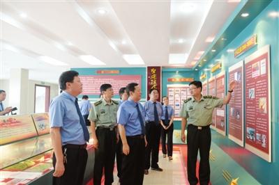 滁州天长:组织干警学习国防知识、接受国防教育